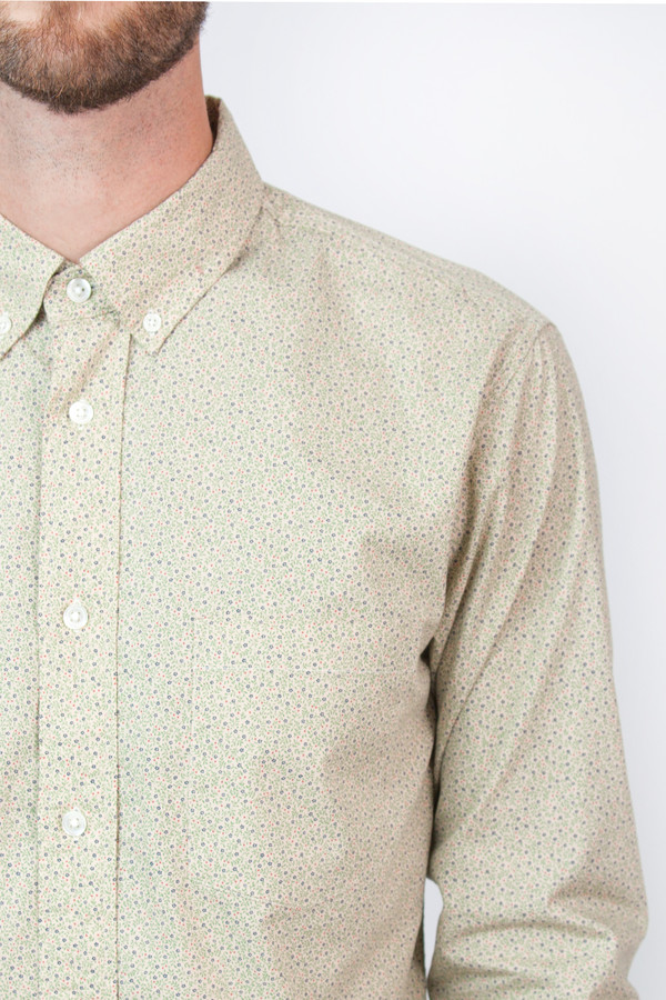 Men's Corridor Mini Floral Long Sleeve Shirt * Exclusive