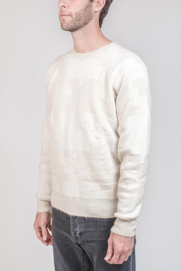 Men's Maison Kitsune Prince Of Wales Sweater