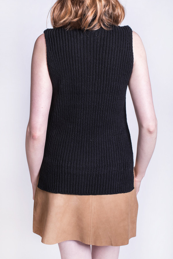 YMC Sleeveless Rib Knit