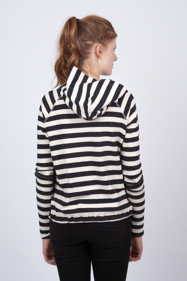 The Lady & the Sailor Vintage Stripe Hoodie