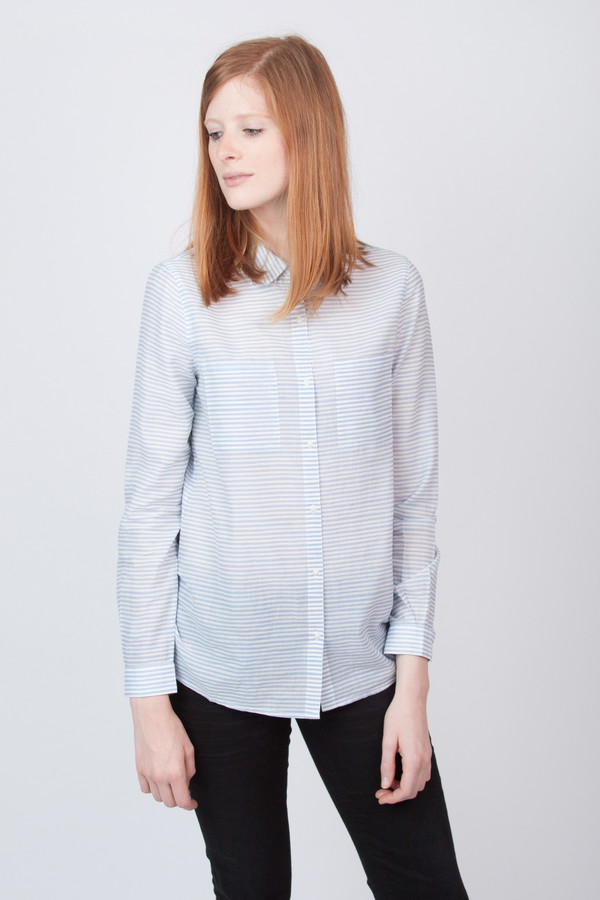 Chinti and Parker Voile Pocket Shirt