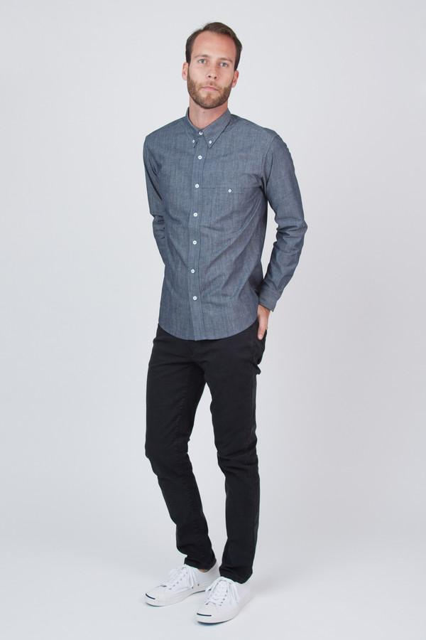Men's Raleigh Denim Welt Pocket Chambray Shirt