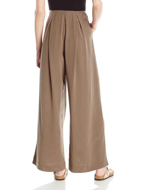 Vincetta Pleated Wide Leg Trouser