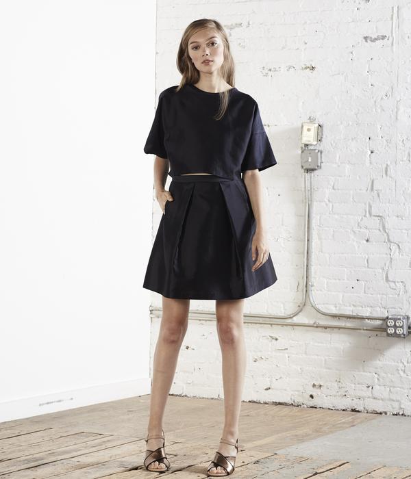 Nikki Chasin Ivy Mini Fete Skirt