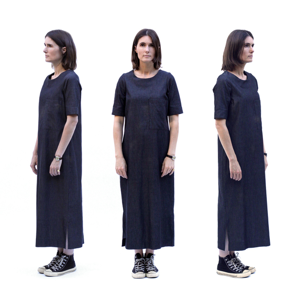 Sunja Link Denim Dress
