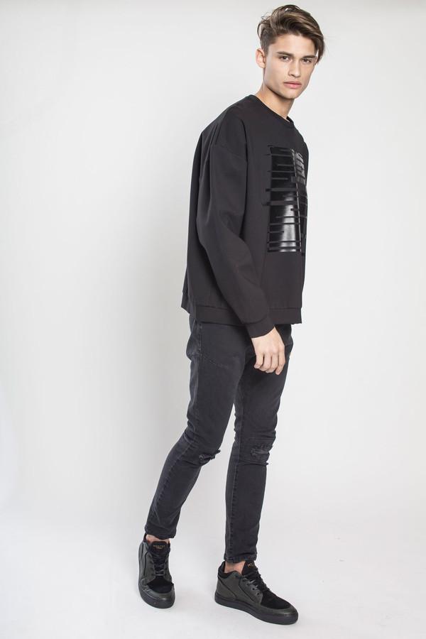 Men's TOURNE DE TRANSMISSION TDT Skinny Jean - Killer in Black