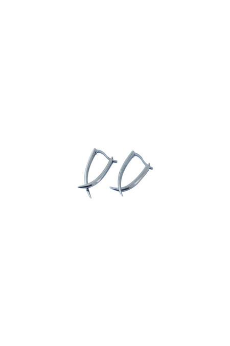 REBEKKA REBEKKA Tina Earring in Black Rhodium