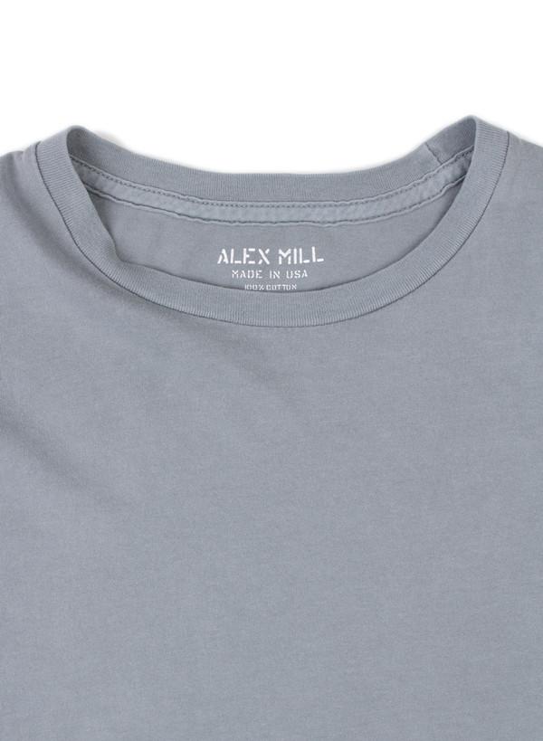 Men's Alex Mill Simple Tee Smokey Blue