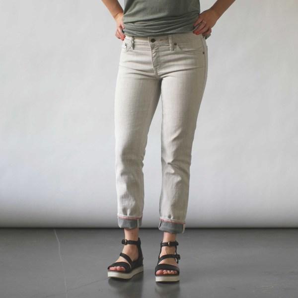 Raleigh Denim Workshop Surry Skinny Jeans in Whitewash