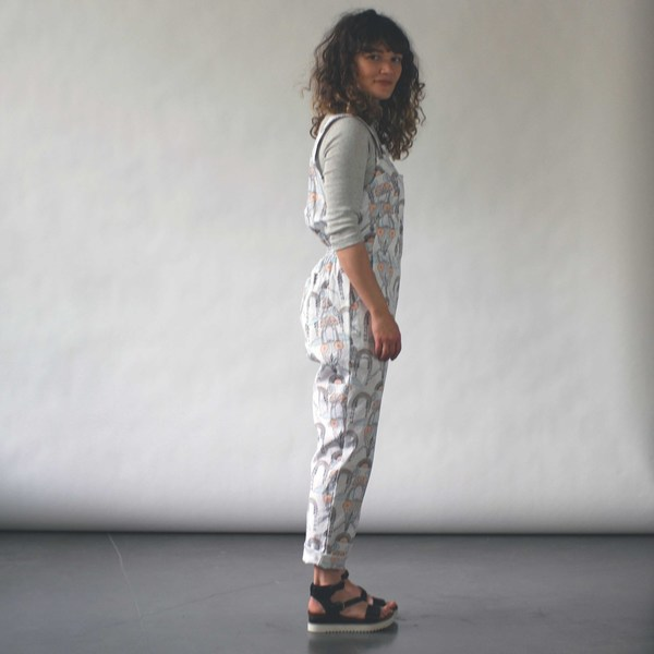 Nooworks Overalls in Bridge Print