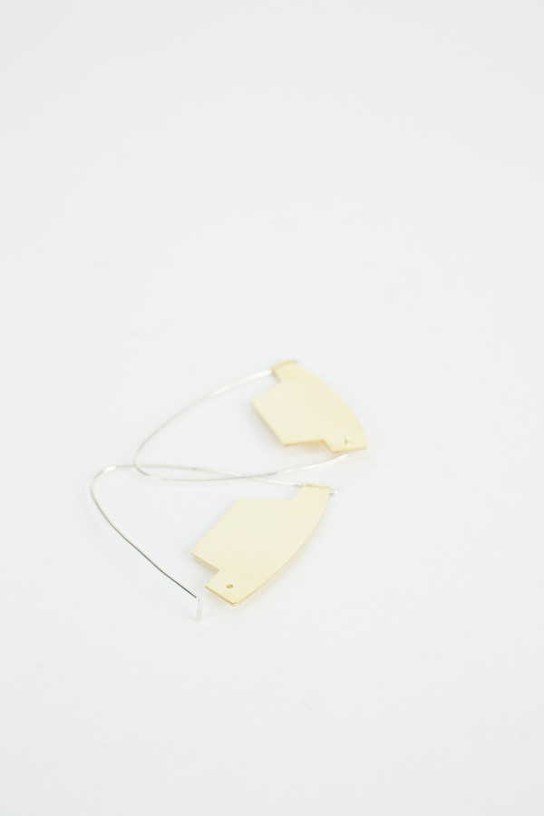 Erin Considine Arch Hoop Earrings