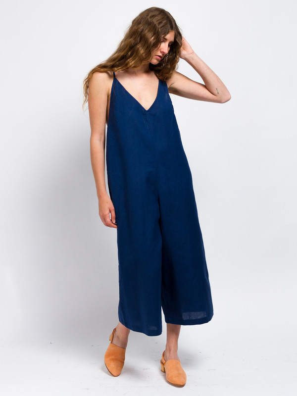 Ali Golden Wide Leg Jumper