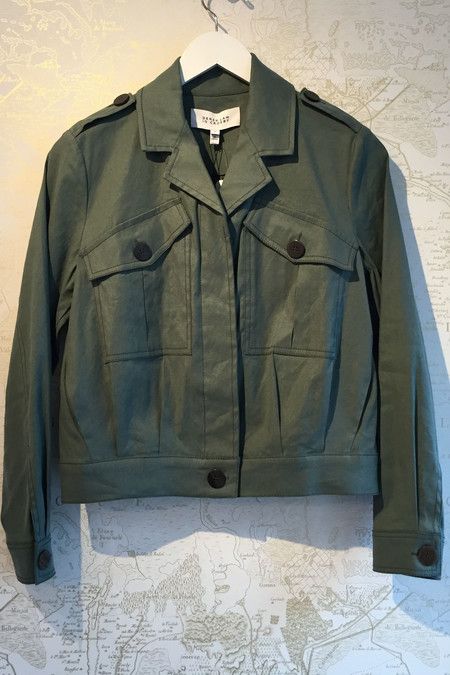 Derek Lam 10 Crosby Cotton/Linen utility jacket