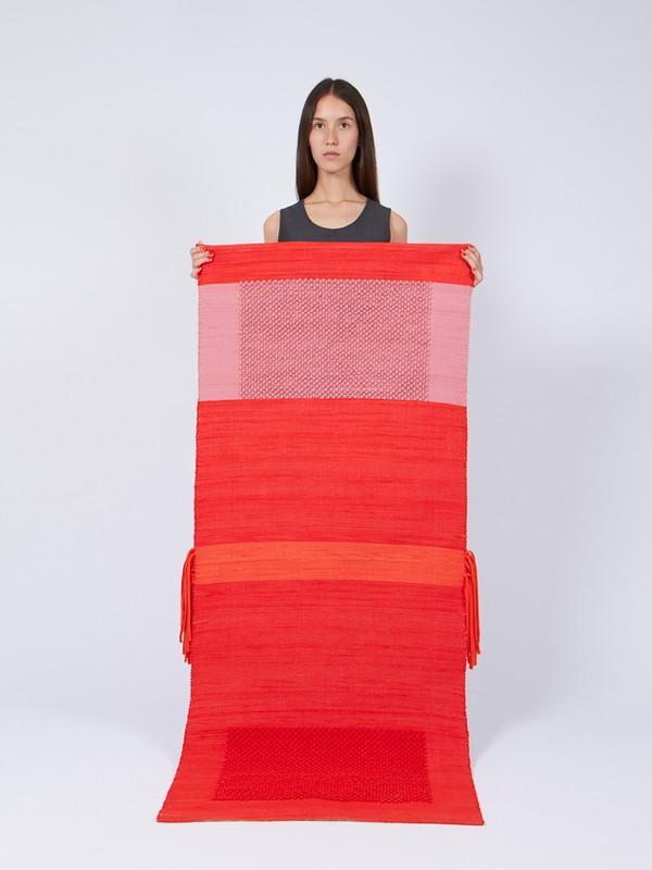 Reality Studio Duoro Rug Red