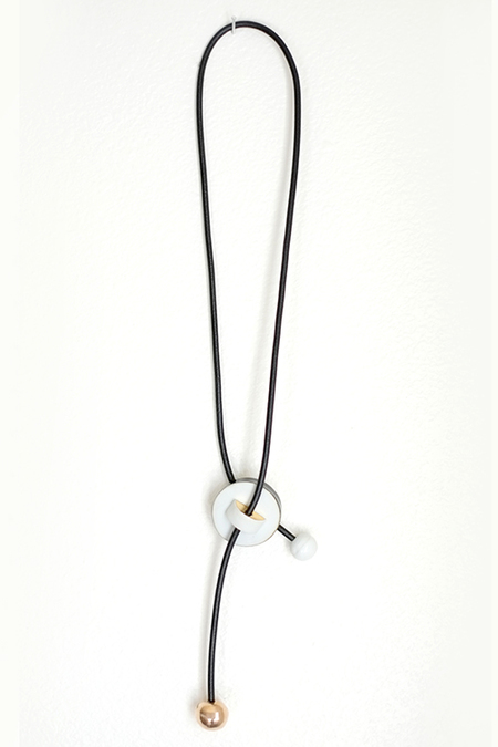 Jujumade disc necklace
