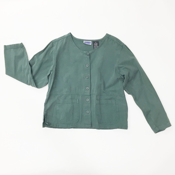 Green Cotton Jacket