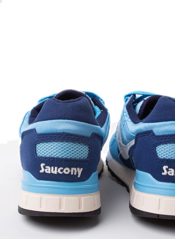 Men's Saucony Shadow 5000 Lt Blue/Dk Blue