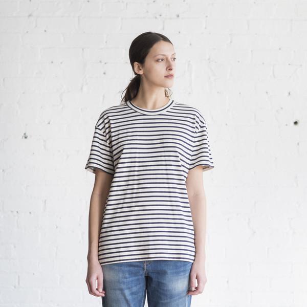 6397 Stripe Russell Tee