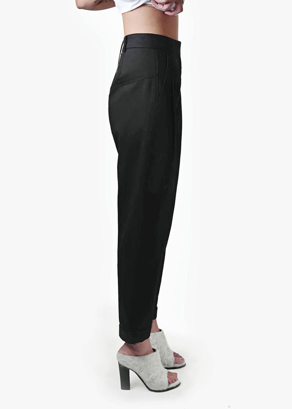Suzanne Rae High Waisted Pleated Pants