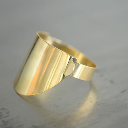 Erin Considine Ellipse Cuff Brass