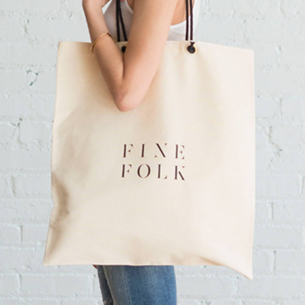 FineFolk Tote Bag