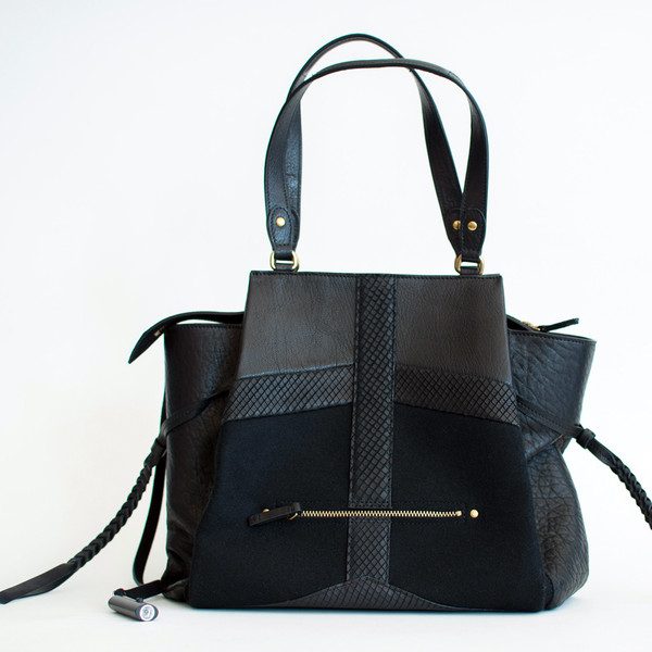Jerome Dreyfuss Anatole M Bag Noir Camaieu - SOLD OUT