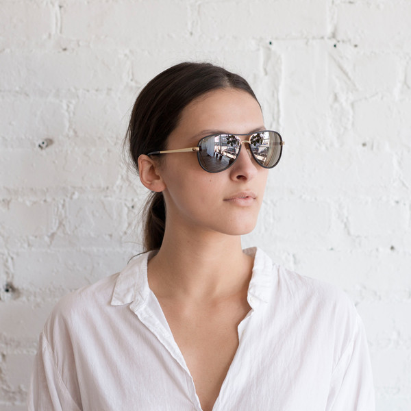 Kate Young for Tura K512 Aviator Black