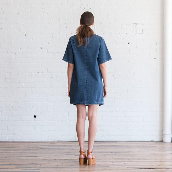Rachel Comey Scribe Denim Dress