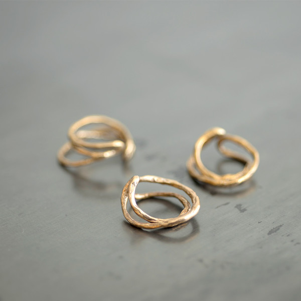 Wwake Adams Ring 3 Layer - SOLD OUT