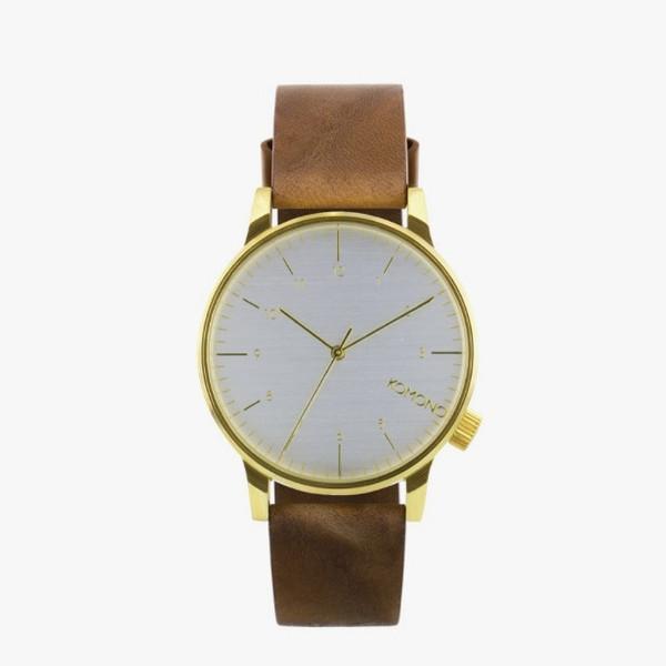 Komono Winston Regal Saddle Brown Watch