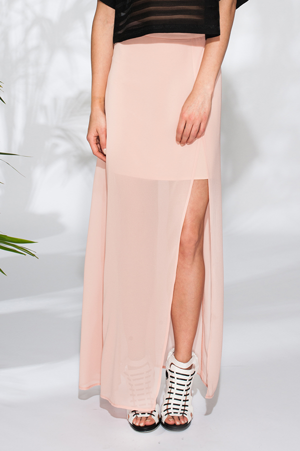 Pink Stitch Phoebe Skirt