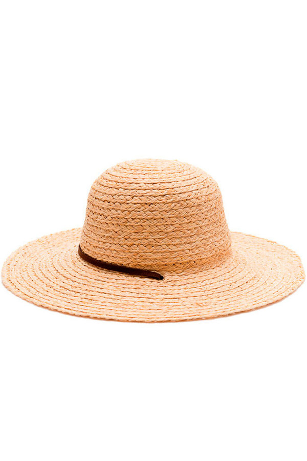 Yellow108 Straw Sunhat Natural