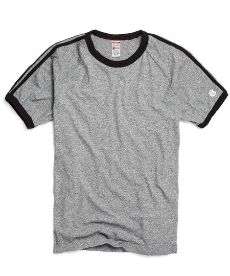 Men's Todd Snyder + Champion - Short Sleeve Stripe Tee