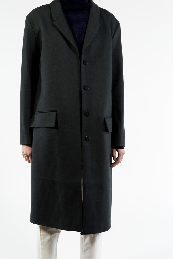 Norse Projects Aud Clean Wool Coat