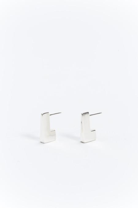 NEAL Jewelry Axiom Earrings Silver