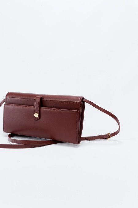 WANT Les Essentiels de la Vie Bradshaw Continental Wallet Burnt Umber