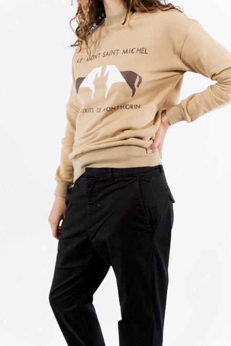 Le Mont St. Michel Cotton Sweatshirt