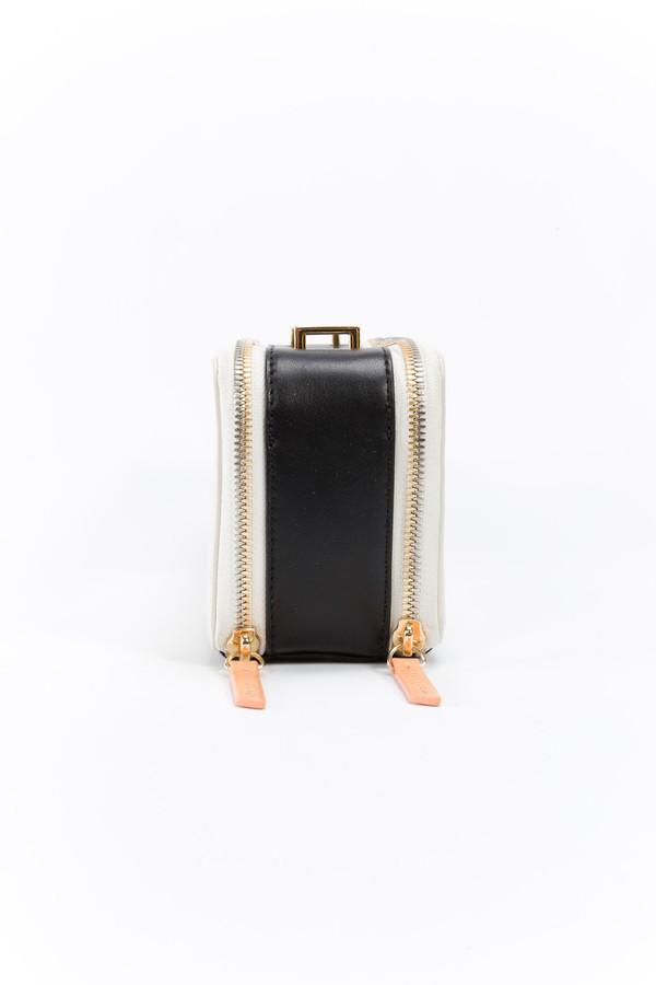WANT Les Essentiels de la Vie Demiranda Shoulder Bag Chalk/Black