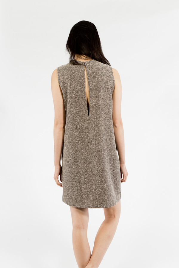 KAAREM Dust Speckled Sleeveless Dress