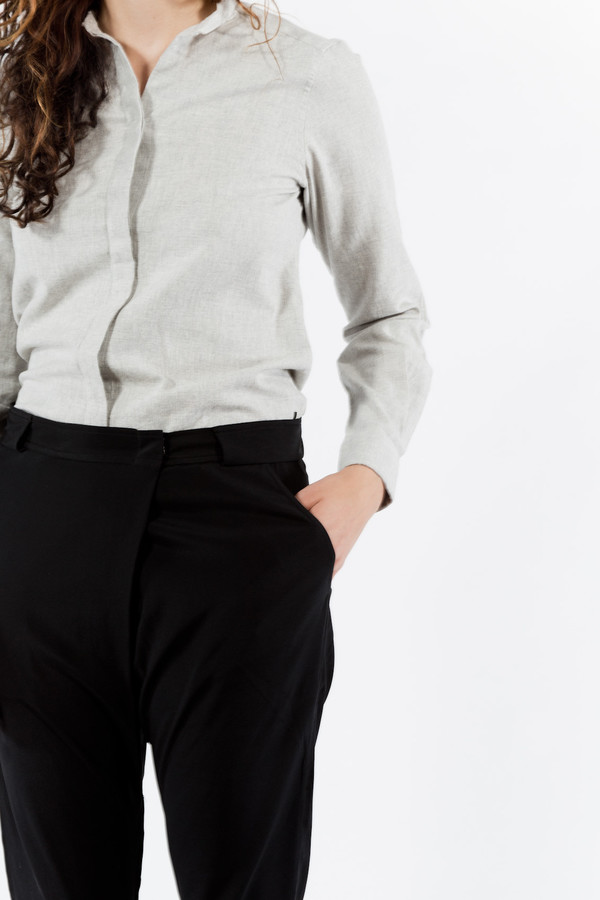 Emerson Fry Jet Silk Fold Pants