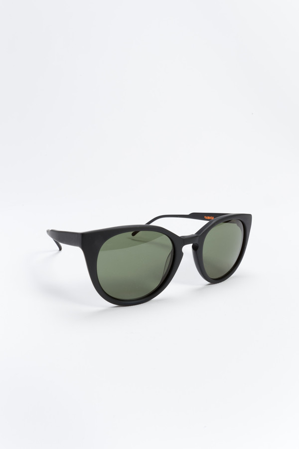 kaibosh June Bug Sunglasses Almost Black