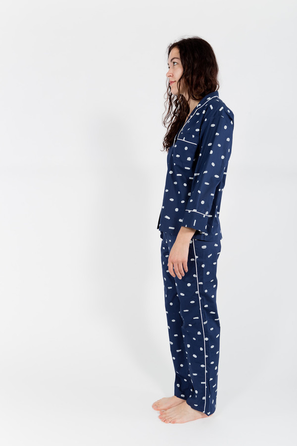 Sleepy Jones Marina Pajama Shirt