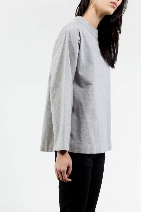 KAAREM Melt Mockneck Loose Top