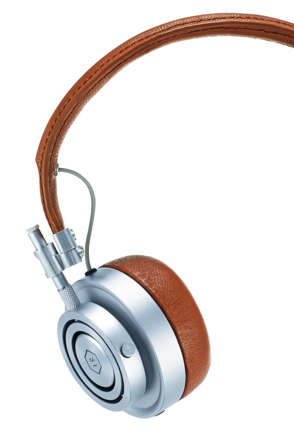 Master & Dynamic MH30 Silver Headphones