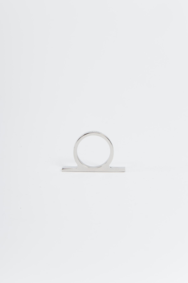 OFORM Jewelry Ring no. 21 Stainless Steel