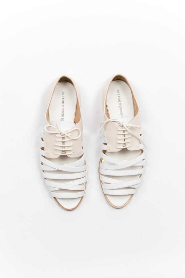 Band of Outsiders Strappy Derby Shoe
