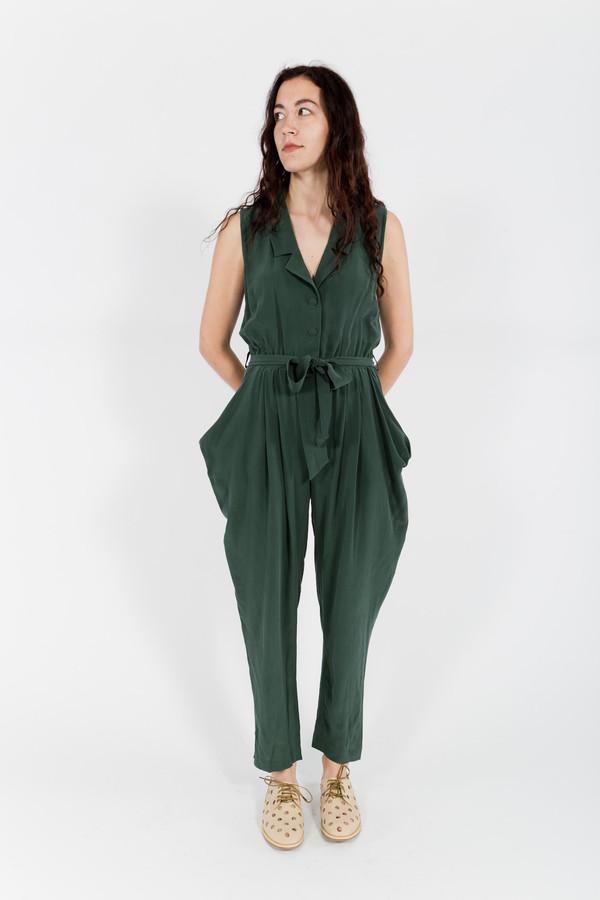 7115 by Szeki Tuxedo Vest Jumpsuit