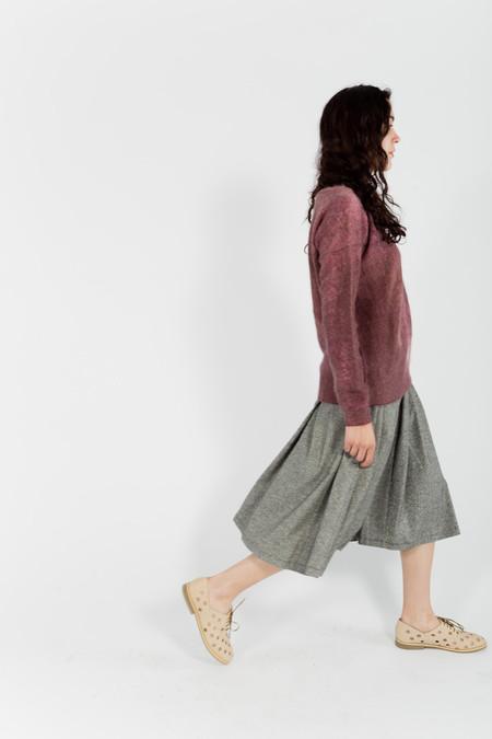 Le Mont St. Michel Tweed Skirt
