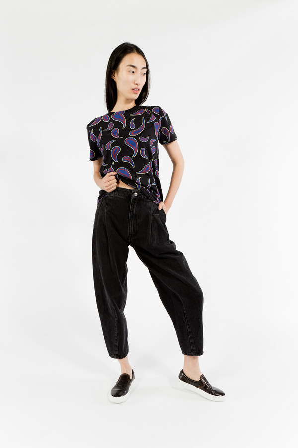 Eckhaus Latta Wide Leg Pants
