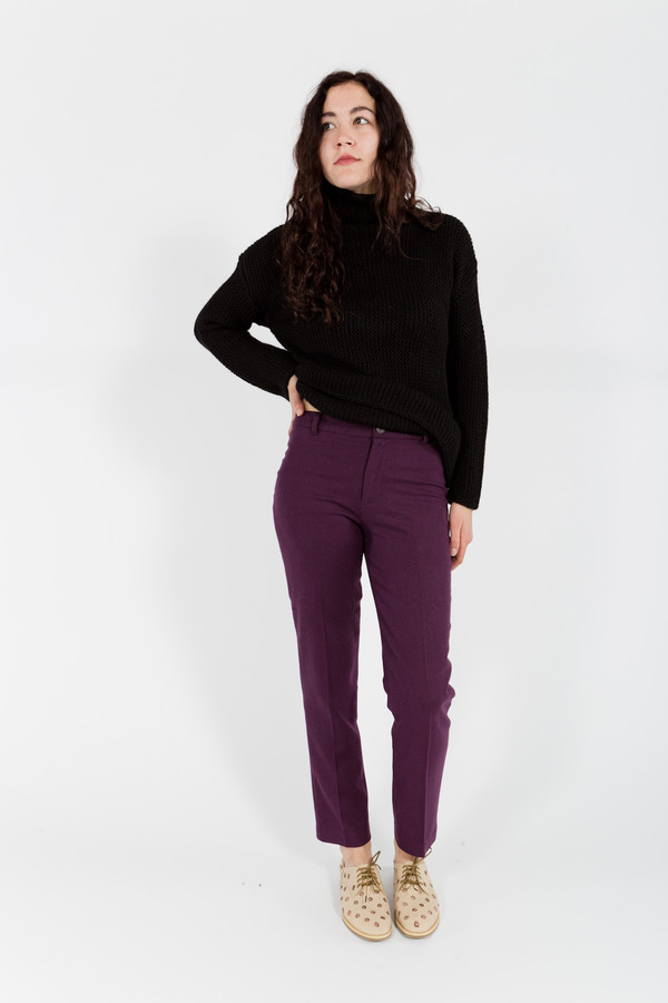 7115 by Szeki Wool Pants